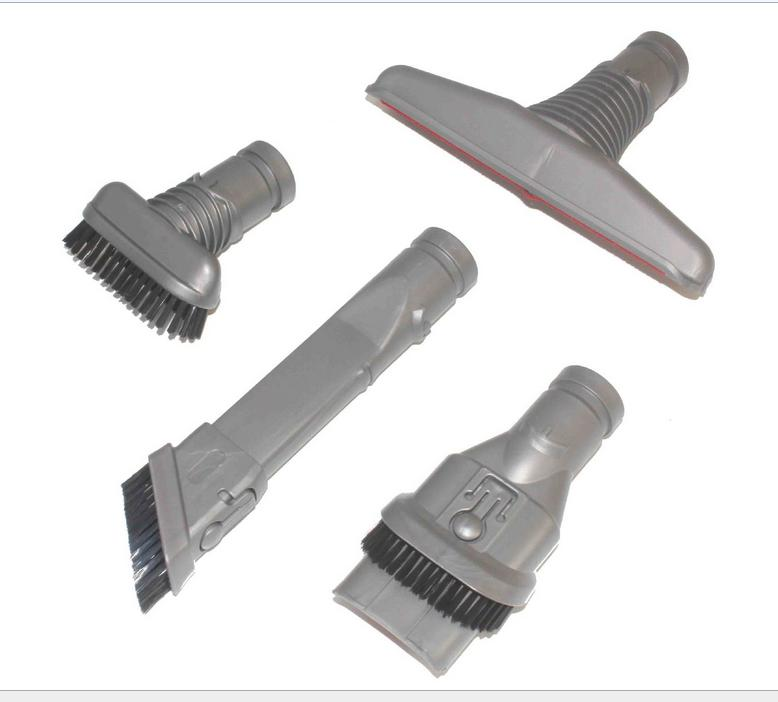 4Pcs/Lot Attachment nozzle Brush nozzle kit for dyson DC49 DC59 DC62 v6 DC52 DC54 DC26 DC37 DC45,DC46 DC47 DC48 DC58 replacement flexible vacuum cleaner brush for hoover crevice tool for dyson v6 dc62 dc52 dc59