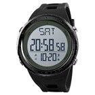 ①  SKMEI 1288 Мужские Часы Многофункциональные Светодиодные Цифровые Часы 50м Водонепроницаемый Обратны ①