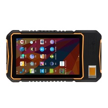 IP65 Rating Mobile Computer Rugged 7 Inch Tablet New Android 7.0 OS Fingerprint Sensor TCS1 Module