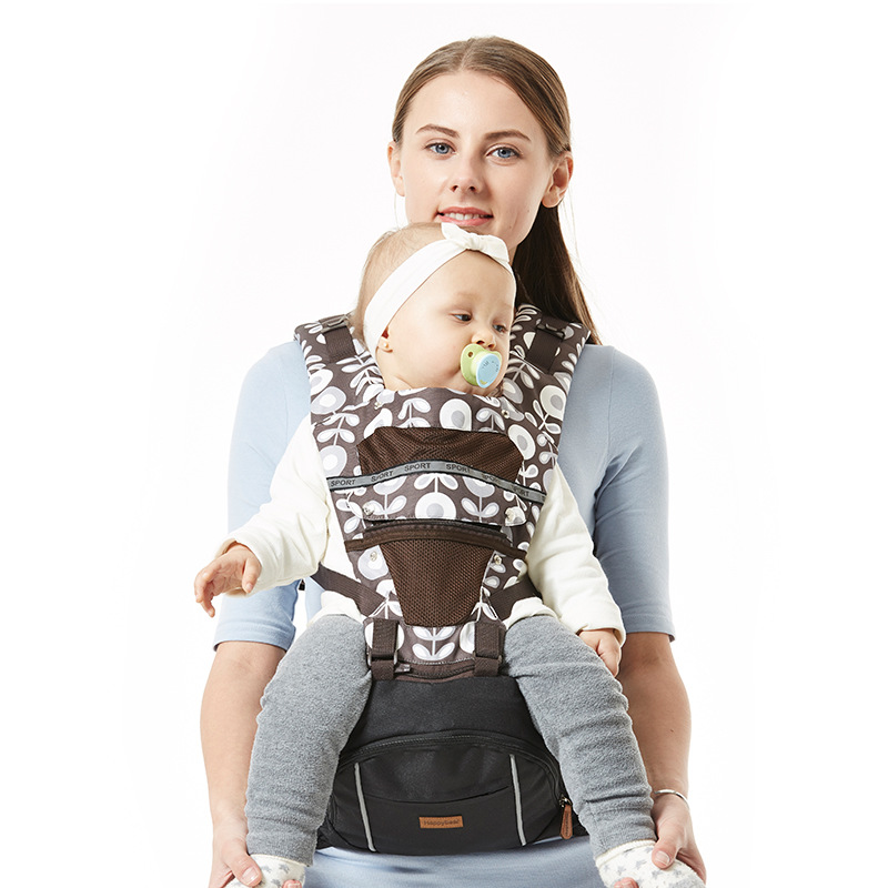 Happy Bear Baby backpacks carri Strap Four Seasons Versatile Baby Single Stool Children Waist and Stool Breathable budou four seasons multifunctional baby suspenders newborn baby stool for children breathable suspenders belt