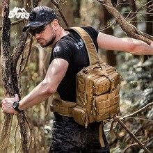 51783 Tactical Backpack Men 1000D Waterproof 3 Sling Back Pack Army Shoulder Military Travel Multi purpose
