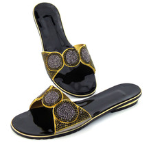 Whoesale Elegant Women's Shoes Nice Looking African Sandals Shoes Free Shipping !!DD1-105