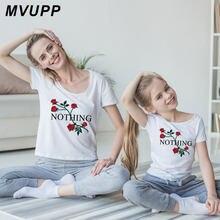 4de7afcdd6855 Mère fille t-shirt famille look vêtements assortis oufits floral rose maman  et moi maman maman maman bébé fille vêtements robes .