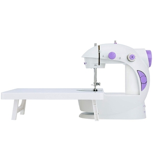 Mini Sewing Machine With Extension Table, Upgraded Version Portable Micro-Car Home Sewing Machine Eu Plug(China)