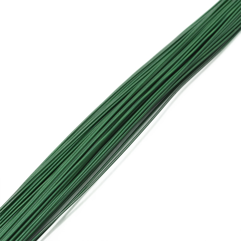 Image 5 - 25Pcs 80cm Long Stocking Flower Iron Wire Used For DIY Nylon Flower Making Floral Wire Ronde Flower Material Accessory 0.46mm-in Artificial & Dried Flowers from Home & Garden