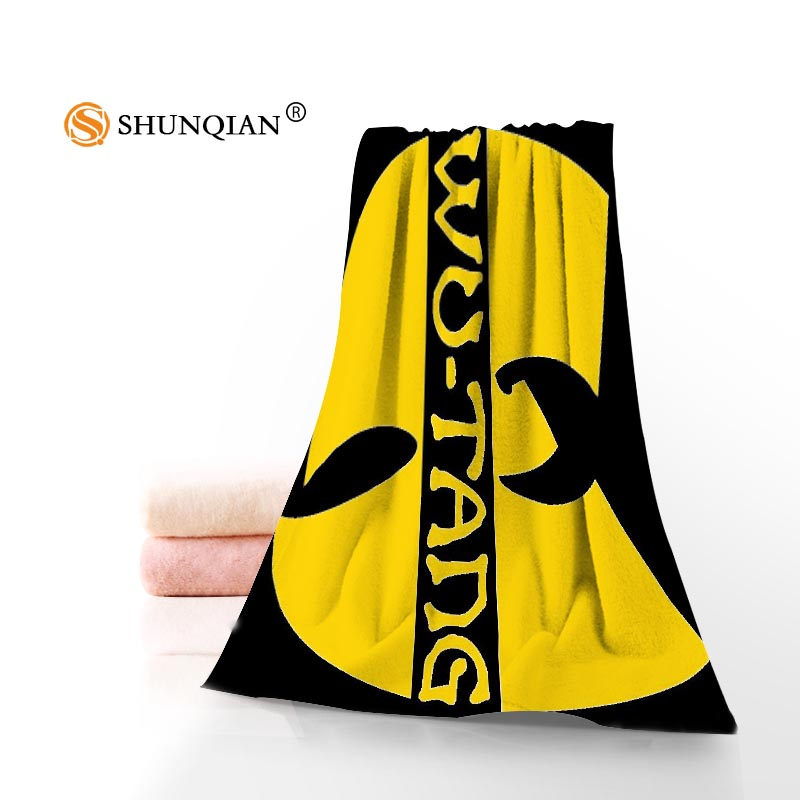 Wu Tang toallas de baño de microfibra de toallas de playa Toalla de cara de encargo creativa toalla tamaño 35X75 cm y 70X140 cm A7.24