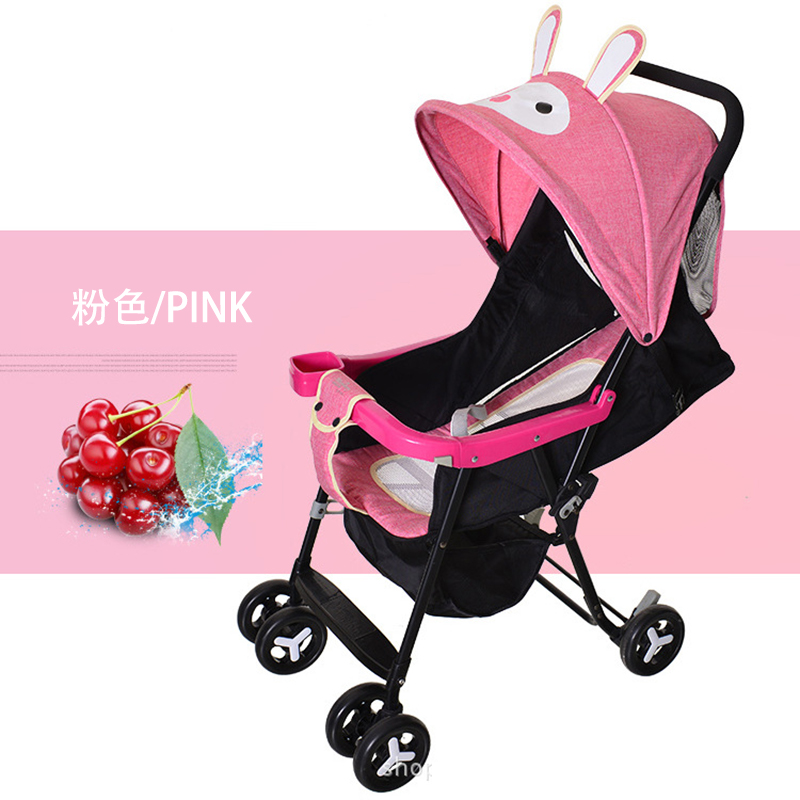 Summer Light Baby Stroller Can Sit Lie Portable Folding Baby Carriage Travel Airplane Baby Pram Umbrella Car Back Organizer Bag цена в Москве и Питере