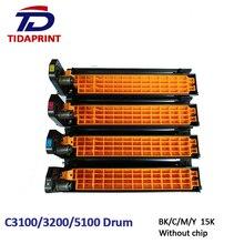 TIDAPRINT заменяемая барабан картридж C3100 3200 5100 изображений фотобарабан комплект для OKI принтера