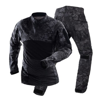 New Men Tactical Military Uniform Clothing Army Combat Uniform Tactical Pants With Knee Pads Camouflage Hunt Clothes War Game tactical hunting camouflage clothes military uniform airsoft clothing army tactical shirt pants with knee pads
