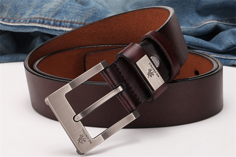 HTB1RIAFaiLrK1Rjy1zdq6ynnpXao - NO.ONEPAUL buckle men belt High Quality cow genuine leather luxury strap male belts for men new fashion classice vintage pin