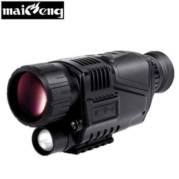 Maifeng professionnel 4X50 Vision nocturne infrarouge monoculaire puissant numérique 200 m HD vision nocturne télescope hd pour la chasse