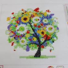 D SH DIY 5D Diamond Embroidery Cross Stitch Kits Rhinestone Painting Glare Tree Diamond Mosaic Painting On Canvas Home Decor