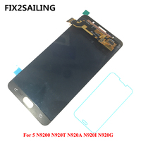 Super AMOLED LCD Display 100% Tested Working Touch Screen Assembly For Samsung Galaxy Note 5 N9200 N920T N920A N920I N920G