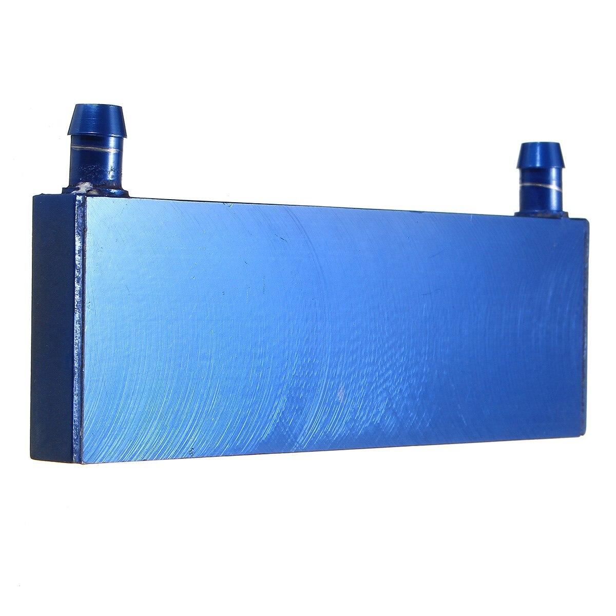 Aluminium Water Cooling Block 122x41x12mm Heatsink Block Liquid Cooler For  CPU GPU Laser Head Industrial Control Cabinet