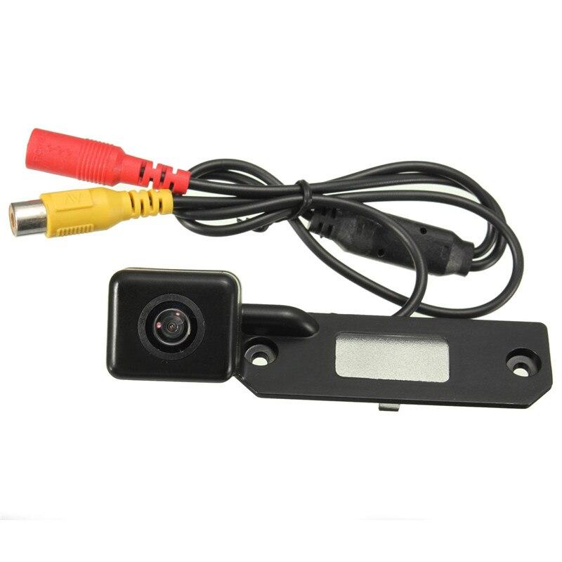 imágenes para CCD inalámbrico para Coche Cámara de Visión Trasera Inversa de Copia de seguridad Cam + Color de Vídeo Receptor Para VW/Passat/Golf/T5/Caddy