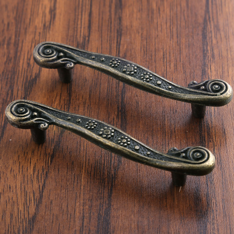 Rustico Vintage Distress Style Furniture Handles Antique