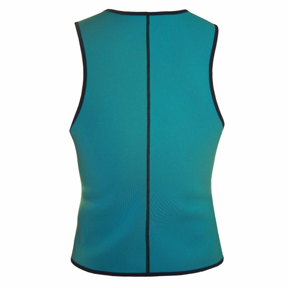 Men Latex Ultra Sweat Hot Waist Trainer Body Shaper Slimming Fit Vest Neoprene Front Zipper Fat Borning Control Top Shapewear (17)