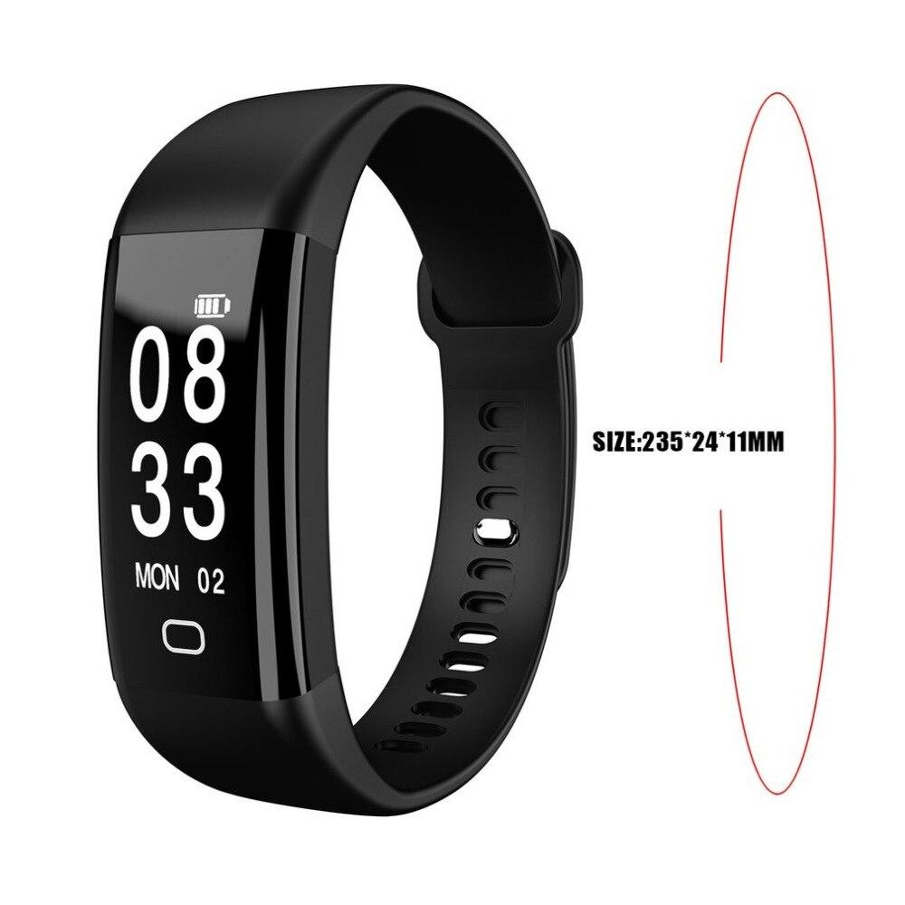 F09 Unisex Sport Pedometer 0.96 Inch HD Display Smart Health Bracelet Waterproof USB Charging Smart Watch Sleep Monitor New