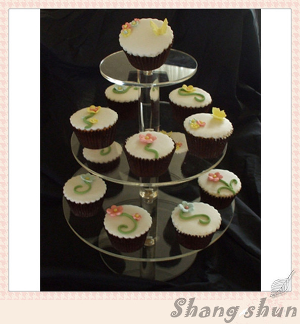 3 Tier Clear Acrylic Cake Stand Stand Acrylic Cake Stand Plates Silicone Cup Cake Case & 3 Tier Clear Acrylic Cake Stand Stand Acrylic Cake Stand Plates ...