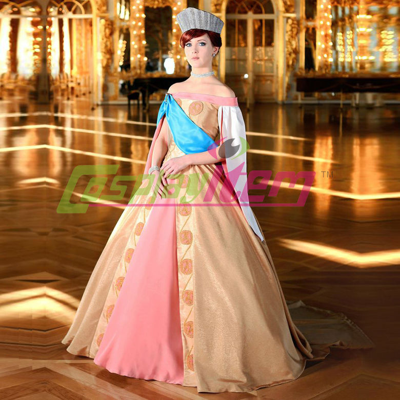 Custom Made Anastasia Princess Yellow Dress Anastasia Costume ...