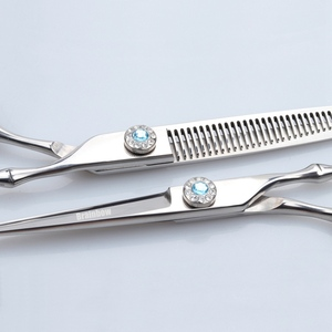 Image 5 - Brainbow Hair Scissors Professional Hairdresser Scissors Quality 6 inch Cutting Thinning Styling Tool Haircut Flat Teeth Blades