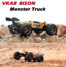 VKAR Bison 1:10 Scale Waterproof 4WD Off-Road High speed electronics remote control Monster Truck,rc racing cars