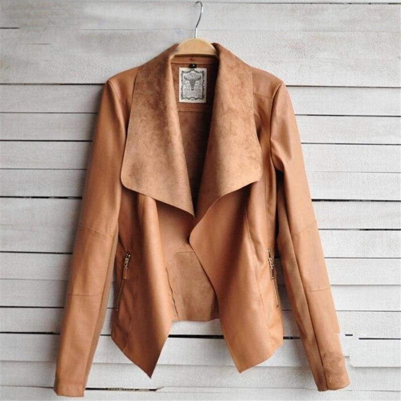 Online Get Cheap Leather Women's Jacket -Aliexpress.com ...