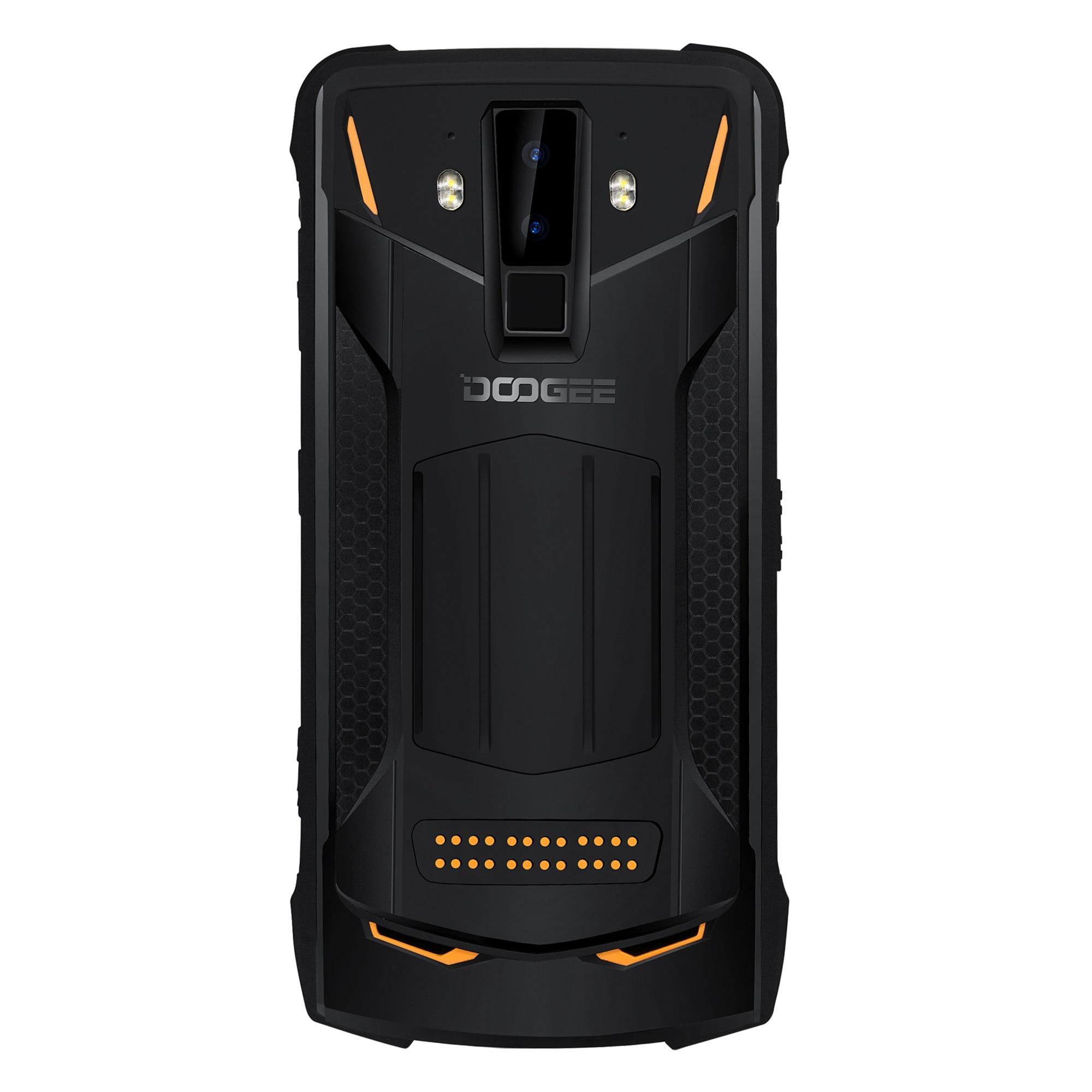 Фото. DOOGEE S90 прочный смартфон GSM/WCDMA/LTE 6,18 дюймов, мобильные телефоны IP68/IP69K 5050 мАч Helio