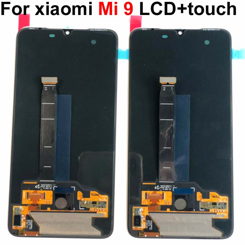 AMOlED Original For xiaomi 9 display Display Mi9 MI9 SE LCD Display Mi9Display Screen Touch Assembly