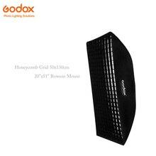 Godox Honeycomb Grid 50x130cm / 20″x51″ Bowens Mount Rectangular Portable Studio Strobe Softbox Diffuser for Studio Strobe