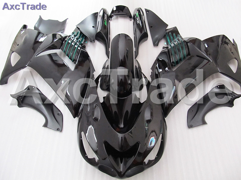 Black Moto Fairing Kit For Kawasaki Ninja ZX14R ZX-14R ZZ-R1400 ZZR1400 2006 2007 2008 2009 2010 2011 Fairings Custom Made C549 black moto fairing kit for kawasaki ninja zx14r zx 14r zz r1400 zzr1400 2006 2007 2008 2009 2010 2011 fairings custom made c549