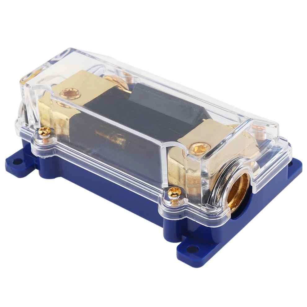medium resolution of 1piece universal 60a car audio power fuse holder fuse box auto amplifier refit fuse adapter