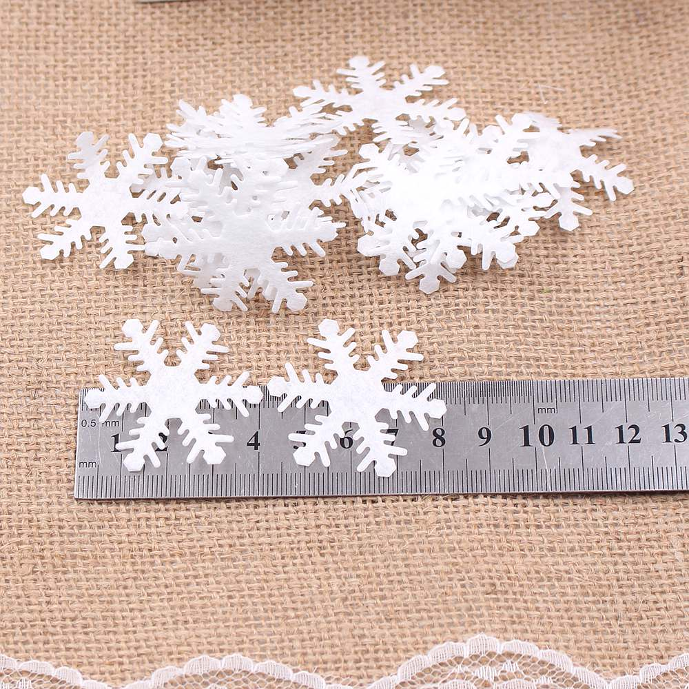 Clearance 100pcs snowflake winter new year christmas ...