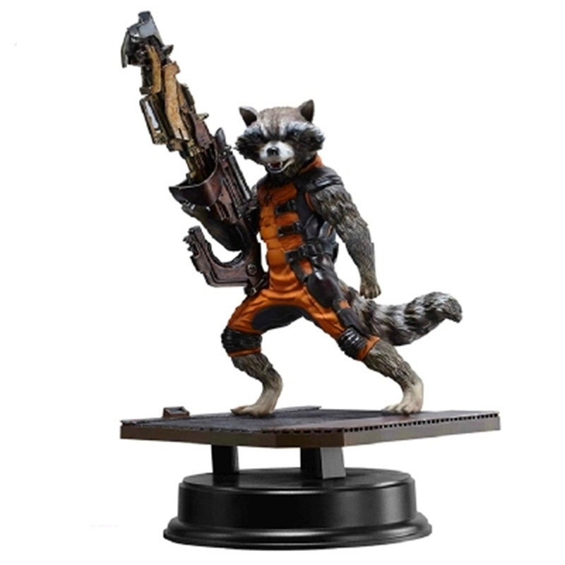 Avengers:Infinity War Guardians Of The Galaxy Sniper Rocket Raccoon The Bounty Hunter PVC Action Figure Model Toy G1174 crazy toy guardians of the galaxy groot rocket raccoon 6 24 action figure collection model toy gifts