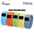 TW64 Smart Bracelet Bluetooth 4.0 IP67 Watch Watch SMS Reminder Sleep Monitoring Tracking Steps Distance Measurement Smartwatch