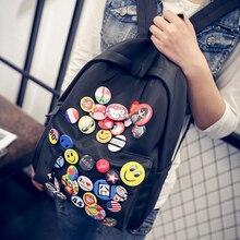 Г-н Гуань Сяотун с 2017 новый прилив сумка женская все матч значок летом студент мешок