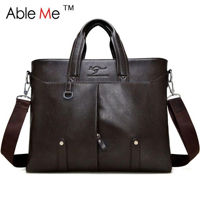 Vertical Zipper Men Briefcase Carry On Document And Laptop Men Handbag Large Capacity Tote Detachable Shoulder Messenger Bag