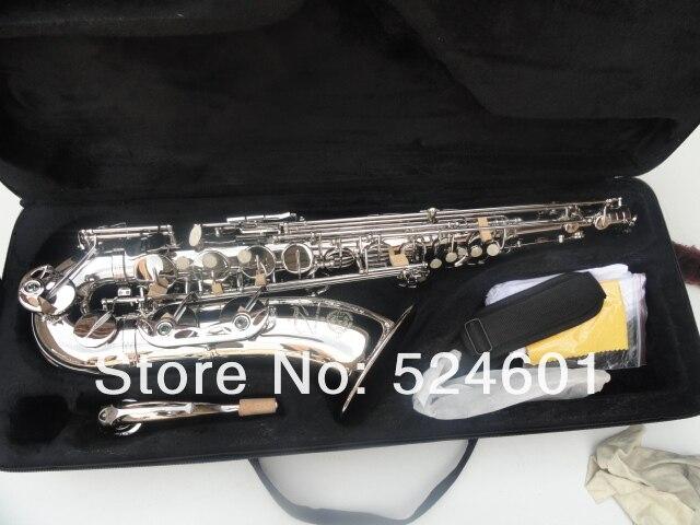 Selma R54 Bb Ténor Laiton Saxophone Nickel Plaqué Surface Marque Instrument de musique Saxophone Avec Le Cas Embout Accessoires