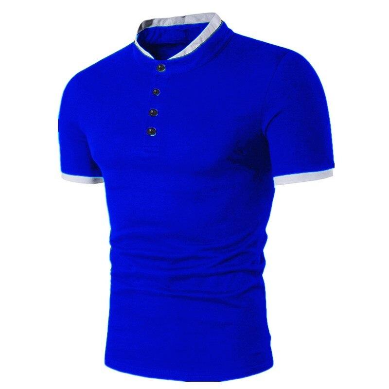 1d7869e9c28 ZOGAA бренд поло для мужчин s 2018 новые рубашки поло хлопок короткий рукав  сплошной все размеры цвет повседневное мужские Поло