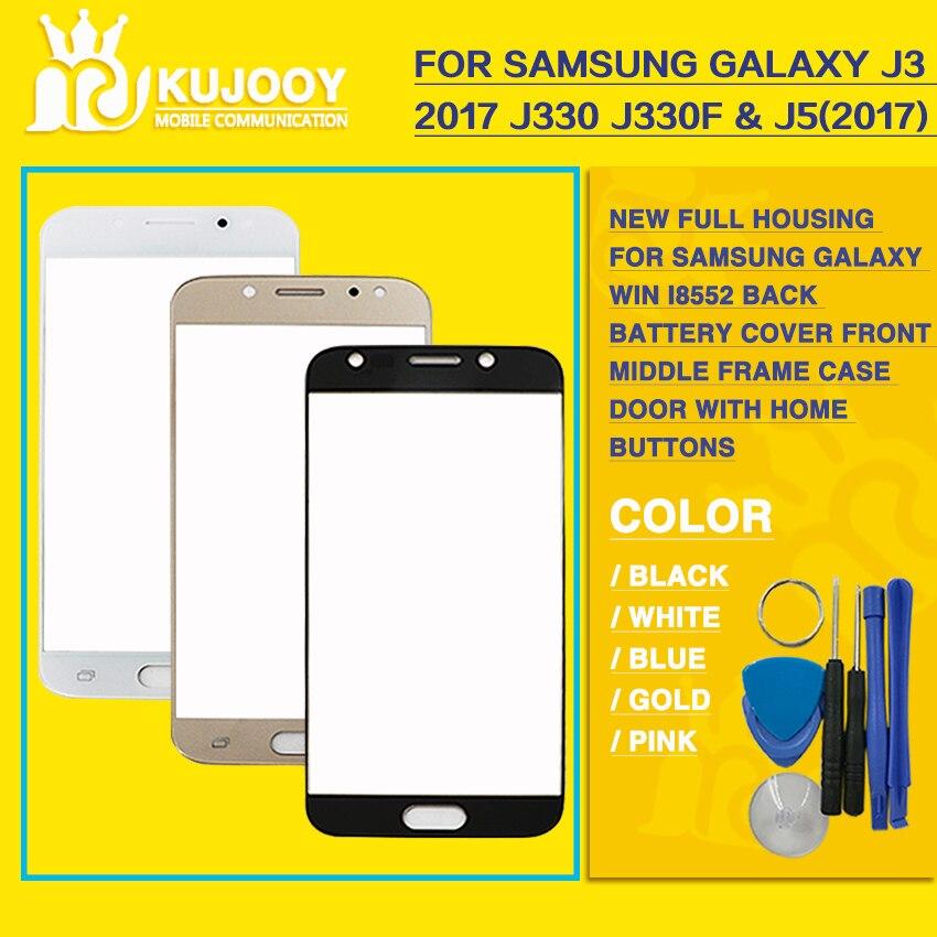 Avant Lentille En Verre Pour Samsung Galaxy J330 J330F & j530 j530f 2017 Version Avant Capteur Panneau de Verre Extra-Lens + outils