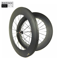 EXCELLENT POPULAR Carbon Wheels Tubular Carbon Road Wheels 88mm Roues De Carbono Bici With R36 Hub