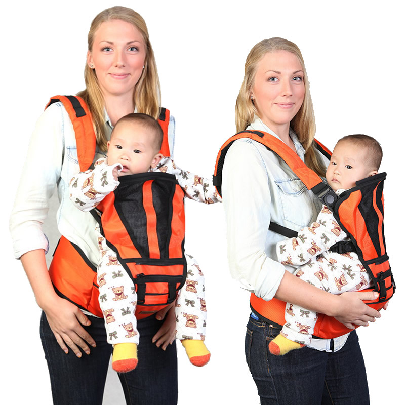 3 Positions Ergonomic Baby Carrier 360 Baby Sling Backpack Infant Baby Sling Wrap Carrier Infant Hip Seat Baby Kangaroo BD57 эргорюкзак boba carrier vail