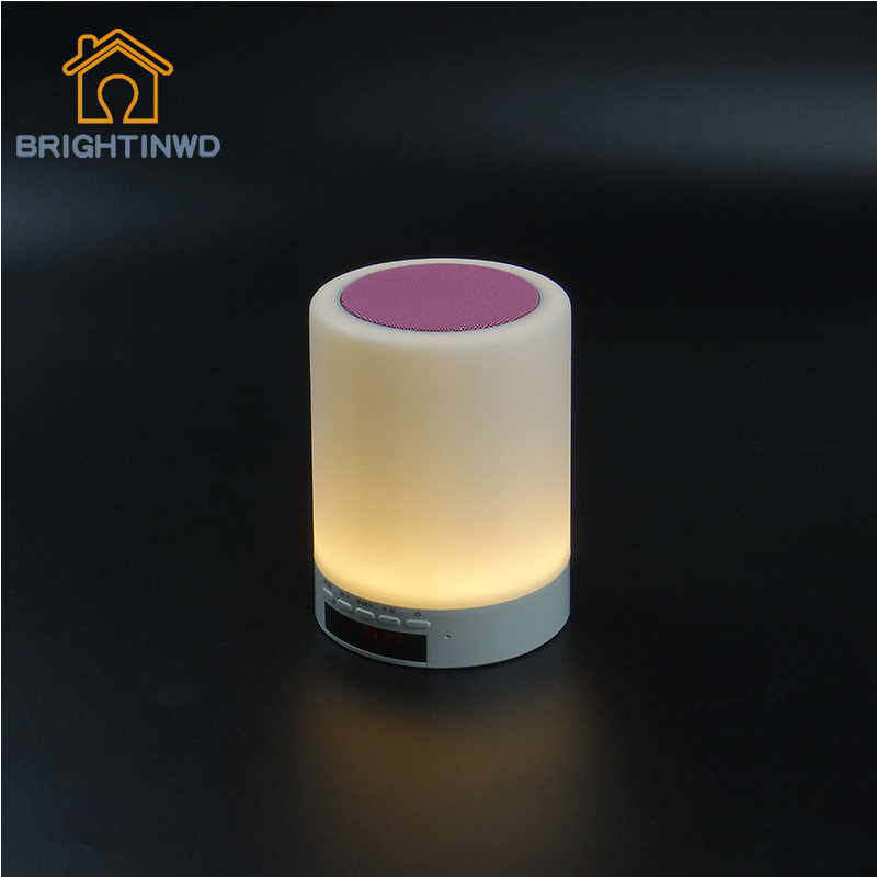 ФОТО Modern Led Table Lamp Sensor Control Music Night Light Lamp for Your Home and Your Dorm Convenient Night Lamp with Bluetooth