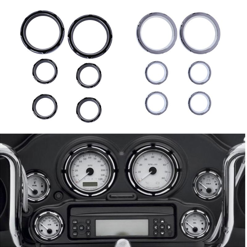 Frames & Fittings Knowledgeable New Instrument Cover Board Shallow Cut Gauge Bezel Kit For Harley Road Glide Street Glide Flhx 96-01 02 03 04 05 06 07 08-13 Regular Tea Drinking Improves Your Health Automobiles & Motorcycles