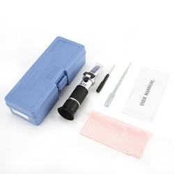 Handheld Refractometer Adblue Ethylene Glycol Antifreeze Battery Fluid Content Coolant Cleaner Meter Mini ATC Measuring Tester