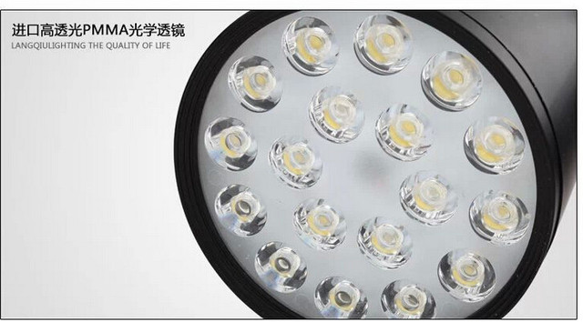 3 anos de garantia! De alta potência 18 w le faixa lamp18w luzes de LED faixa de luz 18 w, Ac90 ~ 260 V