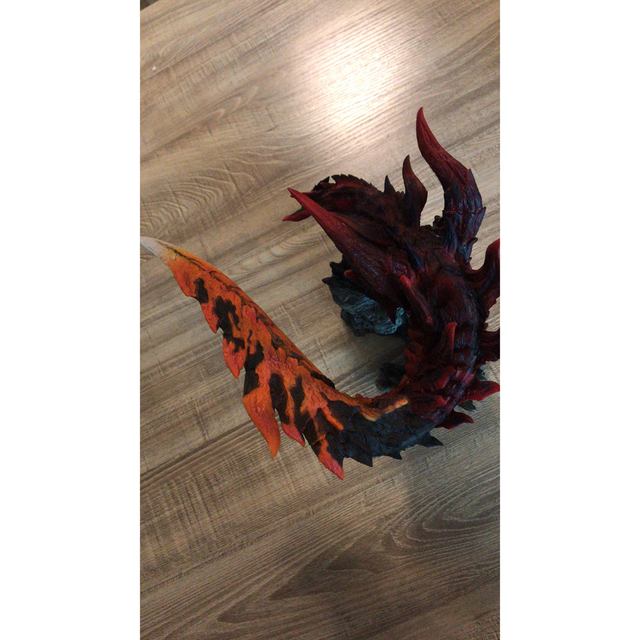 Monster Hunter World Handmade Original Genuine CFB Monster Hunter X Dragon Different Colors Collection Decoration Gifts 5