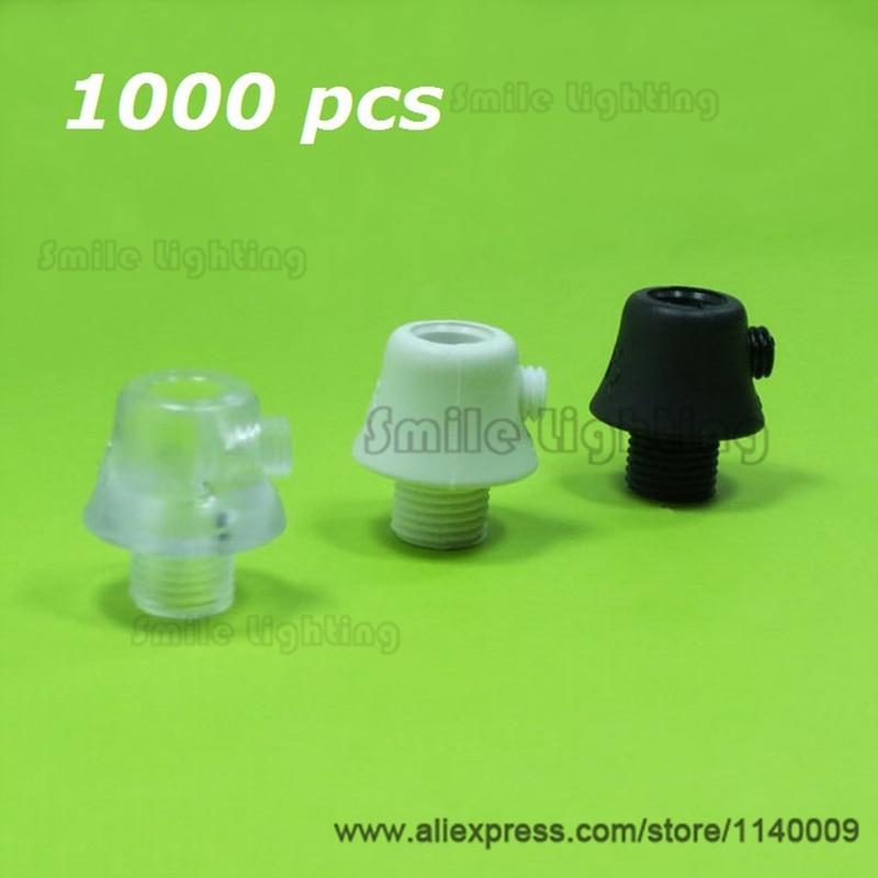 1000 pieces Wholesale Light Fixtures Nylon PC Strain Relief Clamps Light Cord Cable Grips