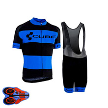 Cycling Jersey 2018 Men CUEB Ropa Ciclismo Short Sleeve Bike Clothes Clothing Sportwear uniforme ciclismo hombre Bib Shorts A15B