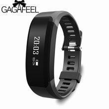 Moda smart watch para as mulheres homens smart watch para android ios como miband bluetooth 2 monitor de freqüência cardíaca pedômetro